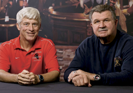 Coach Mike Ditka and Coach Tommy Myers share their stories