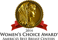 2014 Women's Choice Award | America's Best Breast Centers